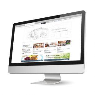 Website für das Hotel-Restaurant Haus Vocke