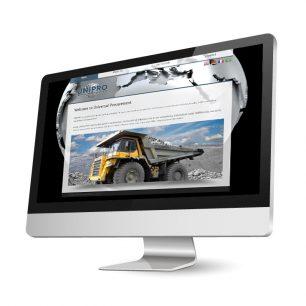 Website für die Universal Procurement GmbH
