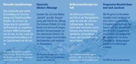 Massage Werbung