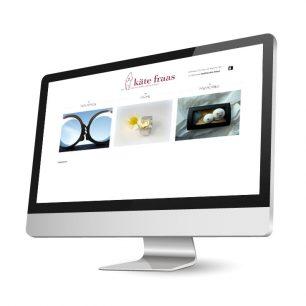 Website für die Goldschmiedin Käte Fraas