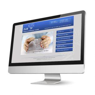 Website für Zell Hausverwaltungen GmbH