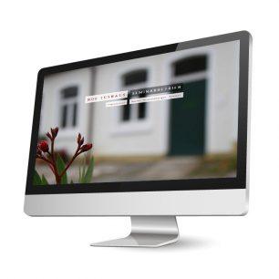 Website für den Hof Tüshaus