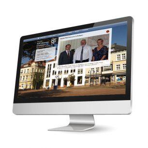 Website für den Rechtsanwalt und Notar Rolf Schroeren