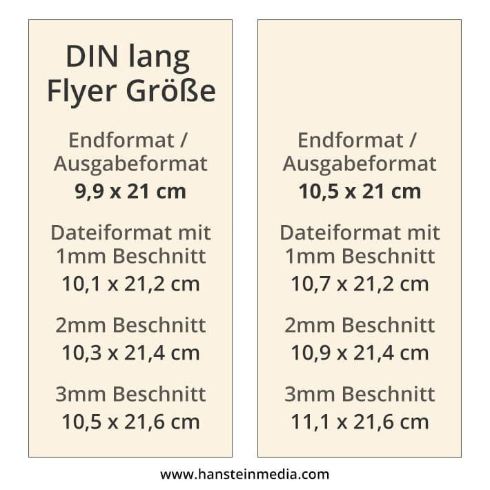 Flyer Maße Und Formate Größe Und Format Korrekt Für Den Druck Anlegen