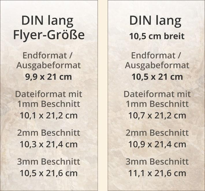 Din Lang Flyer Format