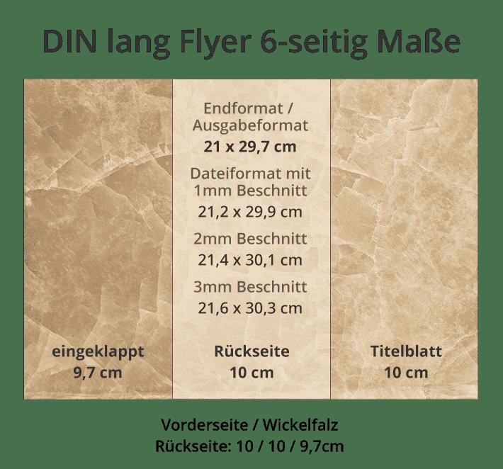 Flyer Formate Übersicht